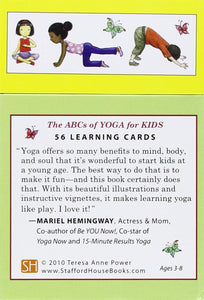 ABCs of Yoga for Kids: 56 Learning Cards