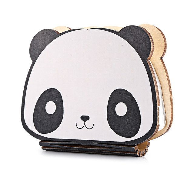 Folding Wooden Mini Panda Light