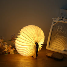 Load image into Gallery viewer, Folding Wooden Mini Panda Light