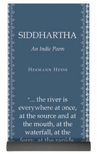 Load image into Gallery viewer, Siddhartha - Herman Hesse - Mist Blue  - Yoga Mat