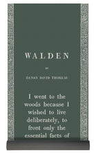 Load image into Gallery viewer, Thoreau- Walden- Dark Sage - Yoga Mat