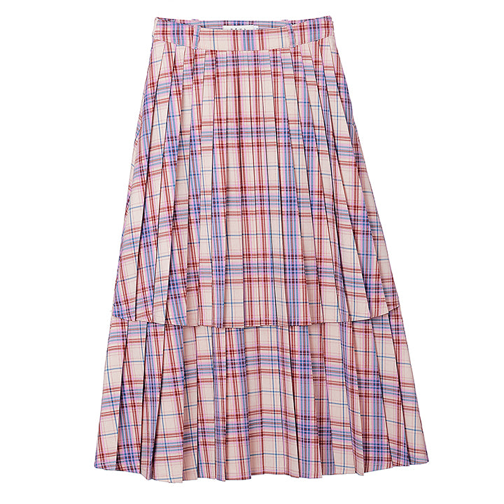 Neul - Pleats-layer Skirt