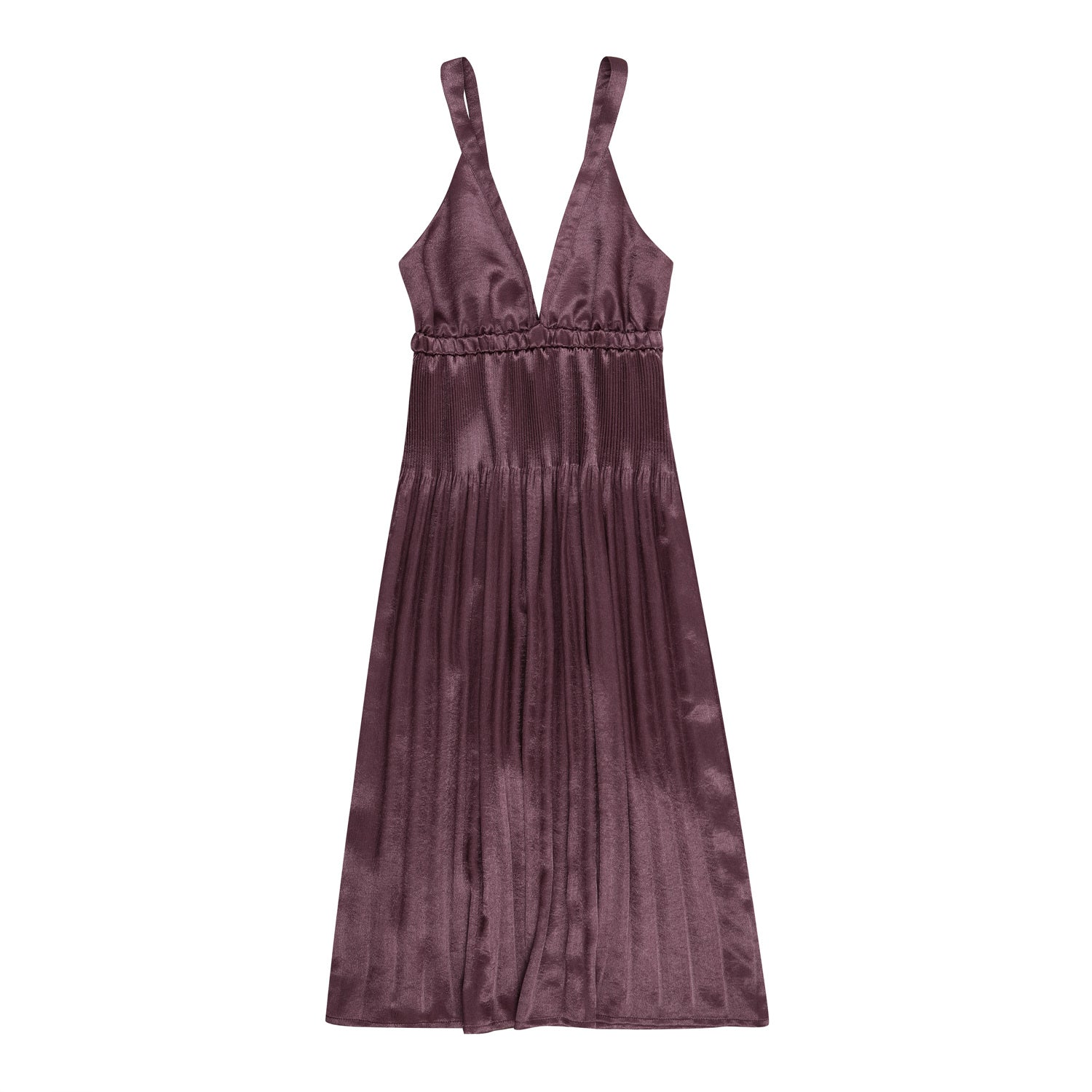 Fortuna shining dress - Burgundy