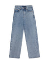 Yoke Blue Denim Pants