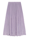Fortuna Pleats Silky Skirts