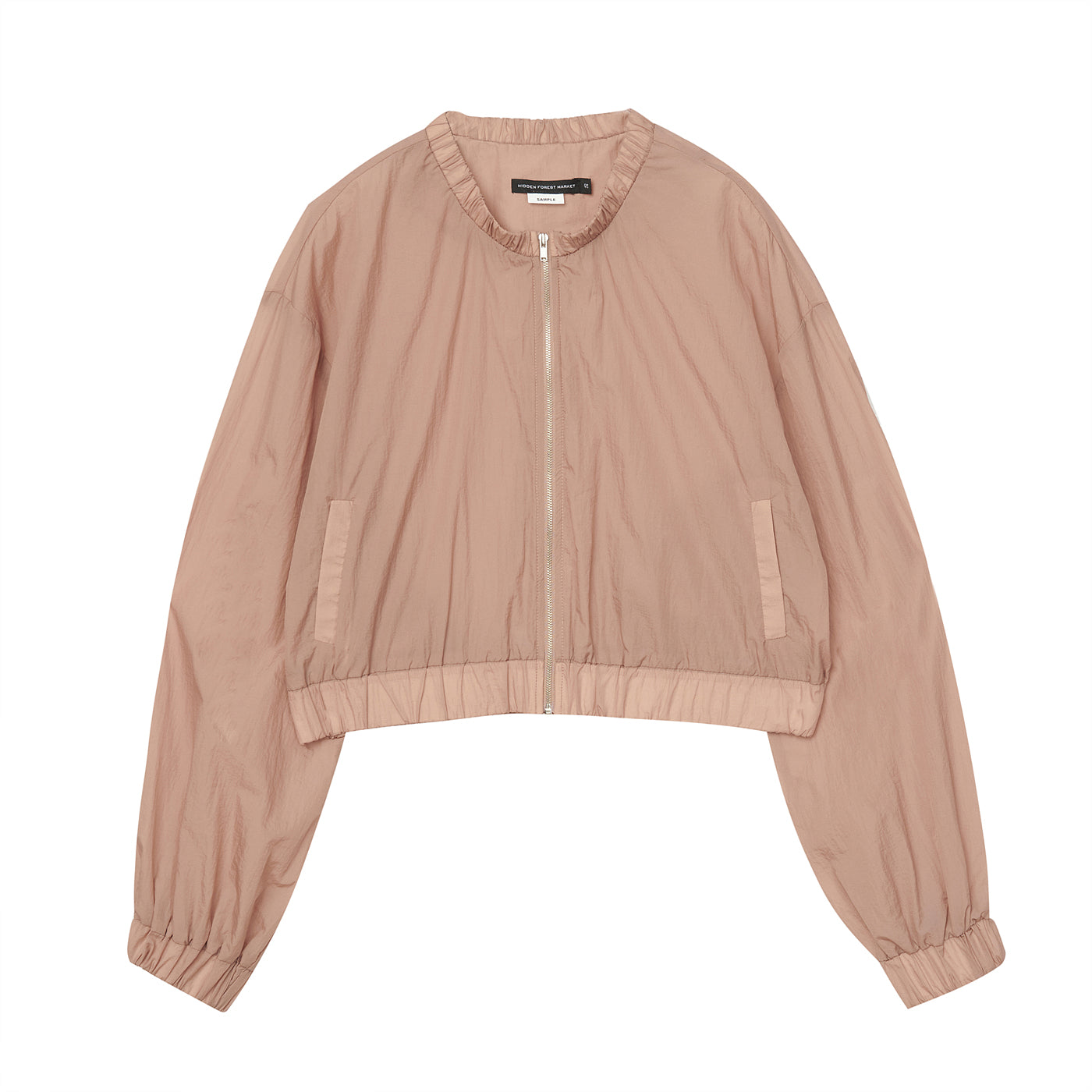 Wide sleeves bomber