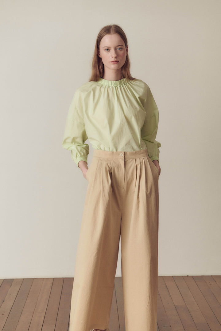 Wide Cotton Pants