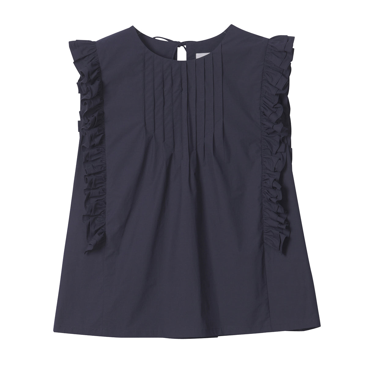 Neul - Frill Sleeveless Blouse Top