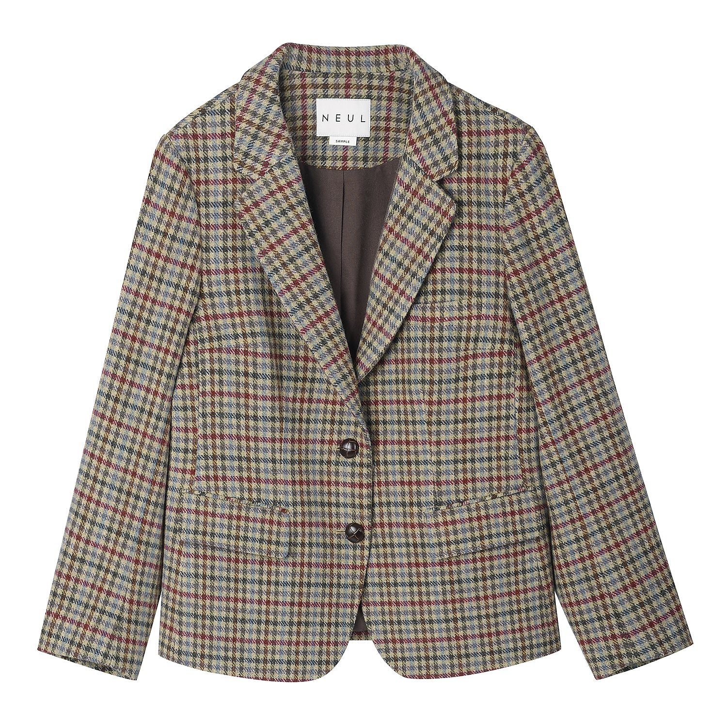 Neul - Vintage inspired check jacket