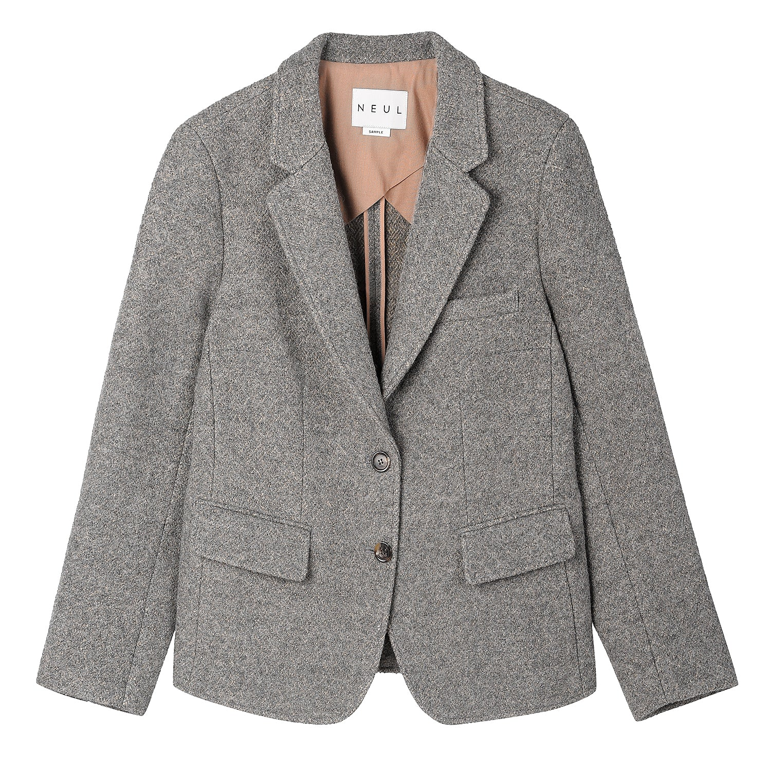Neul - Retro wool felt jacket