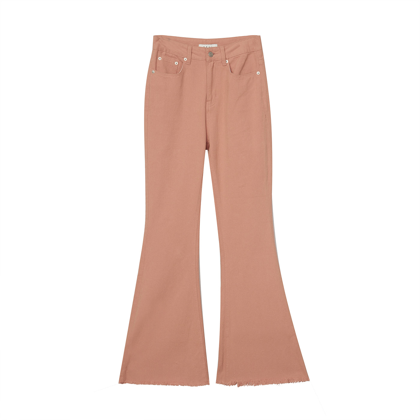 Neul - High Waist Boot-cut Pants