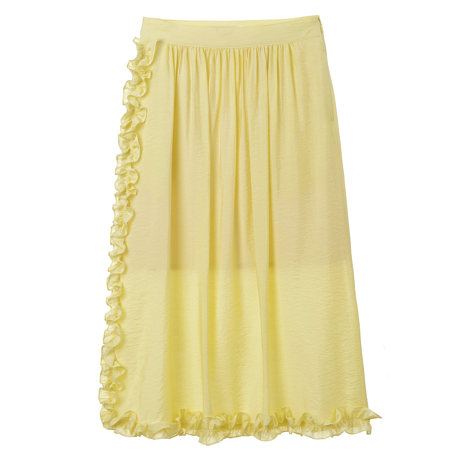 Neul - Frilled Shining Skirt