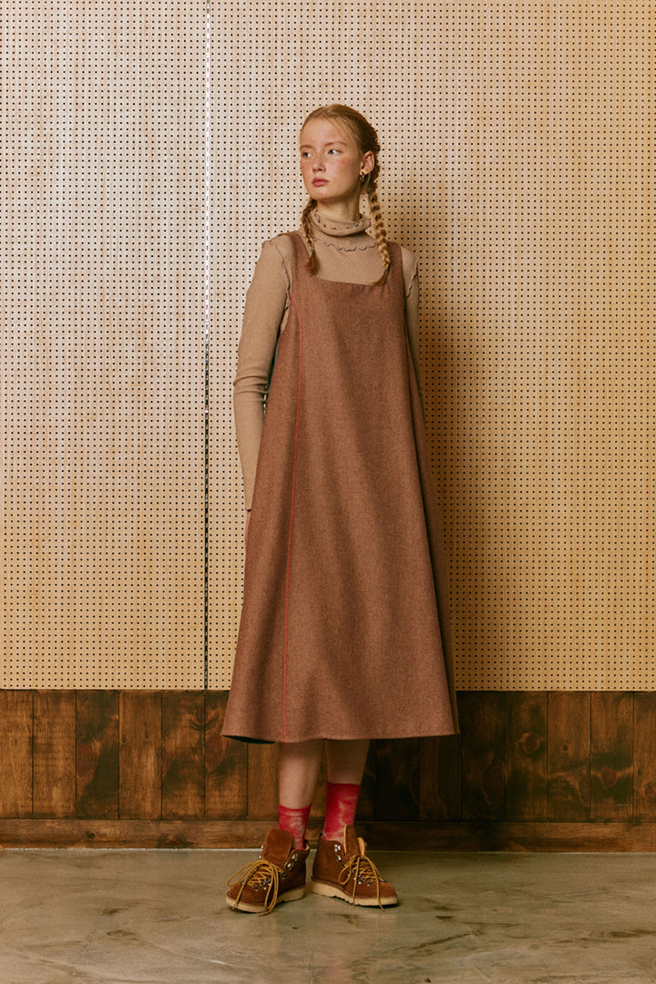 Neul - Coloured Block Wool Dress
