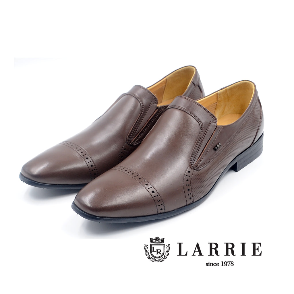 LR LARRIE Coffee Basic Formal Shoes