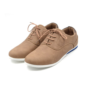 LARRIE Men Mushroom Smart Contrast Tip Sneakers