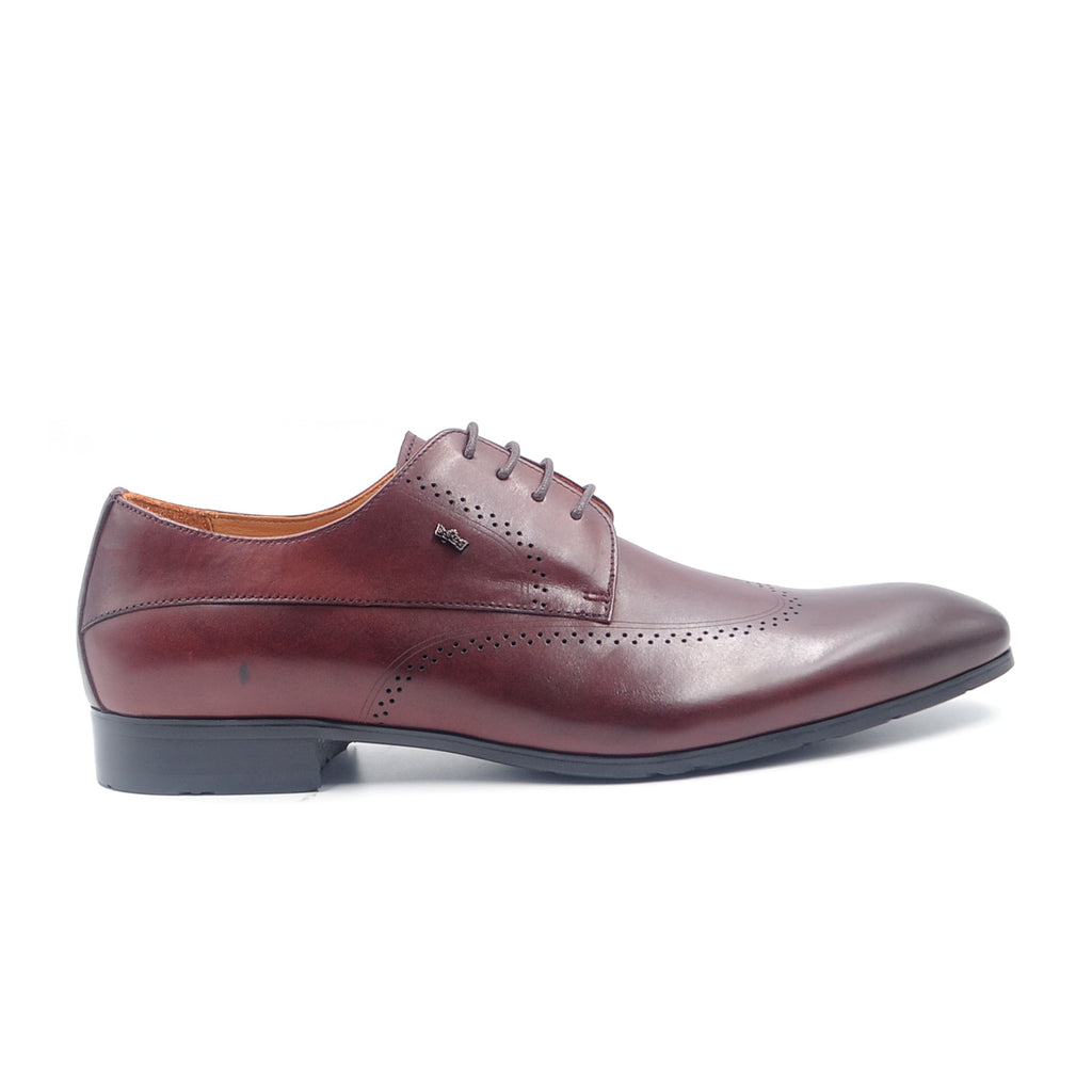 LR LARRIE Burgundy Sleek  Formal Shoes