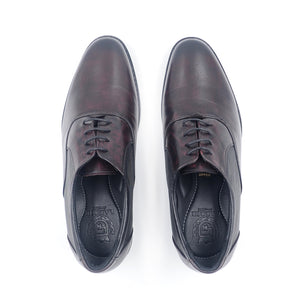 LR LARRIE Dark Burgundy Smooth High Cut Business Shoes