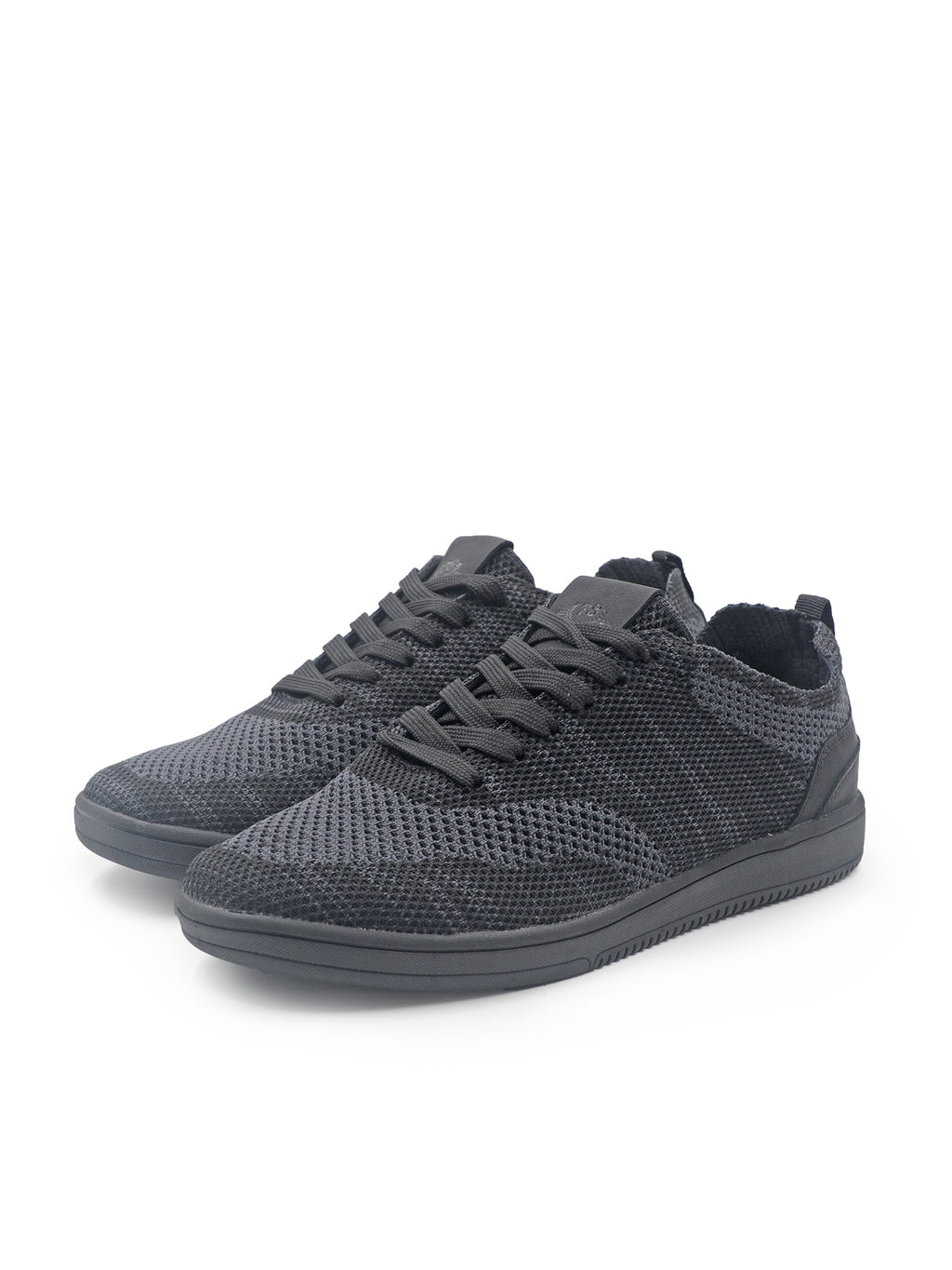 Larrie Black Light Knitted Sneakers