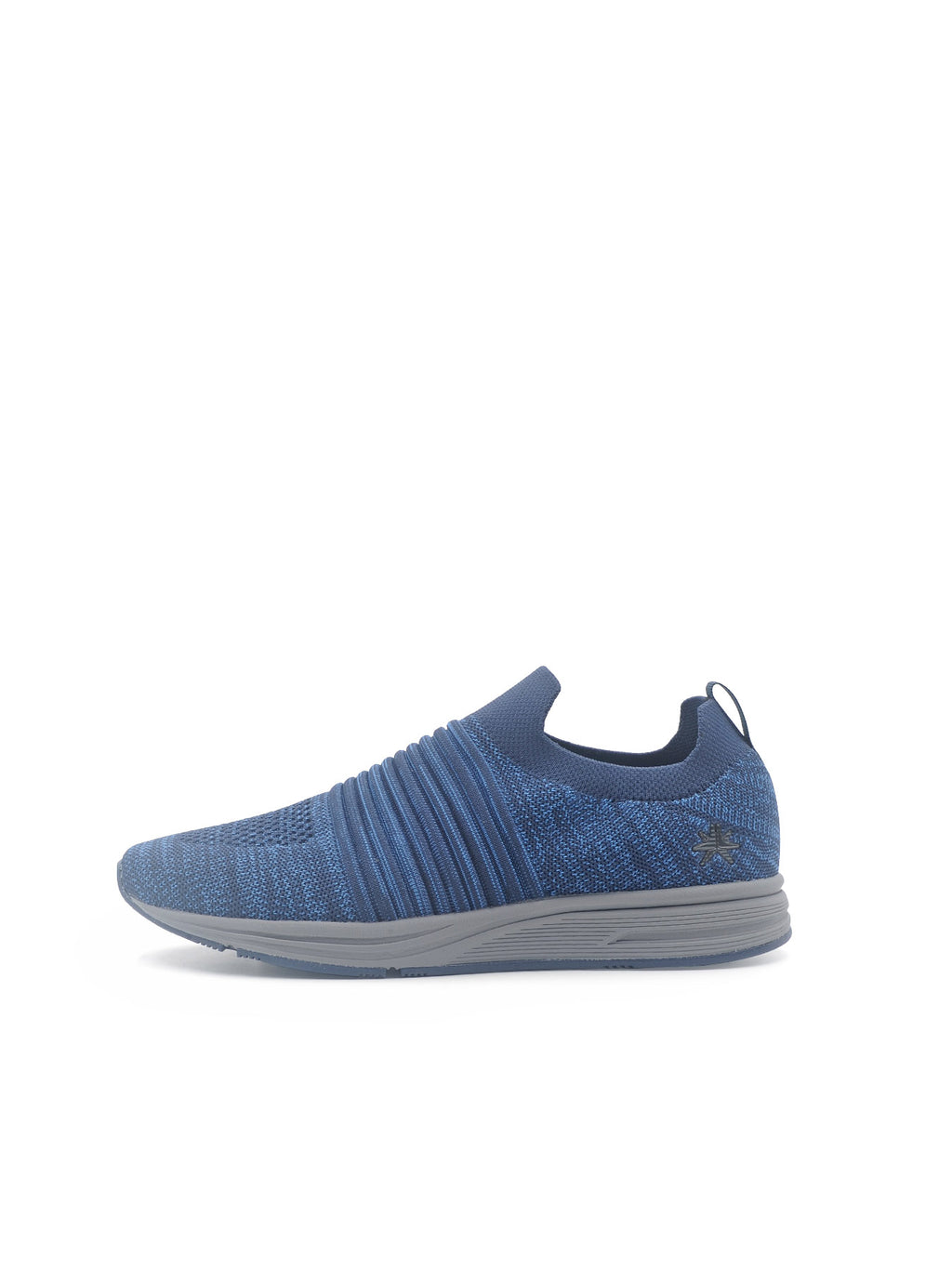 Larrie Navy LaKnit Textured Upper Slip On Shoes