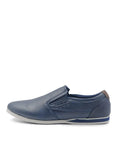 Larrie Navy Basic Slip On Shoes