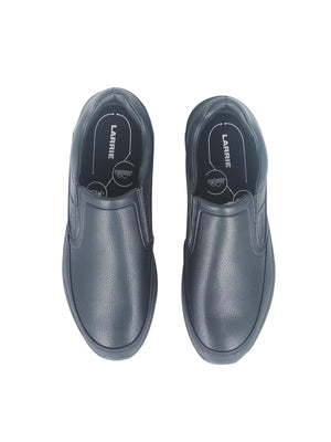 Larrie Black Classic Slip On Shoes