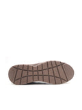 LARRIE Men Dark Brown Visible Stitch Slip On Shoes