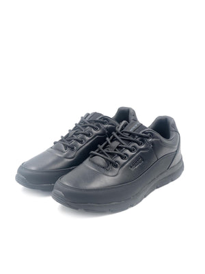 Larrie Black Classic Lace Up Shoes