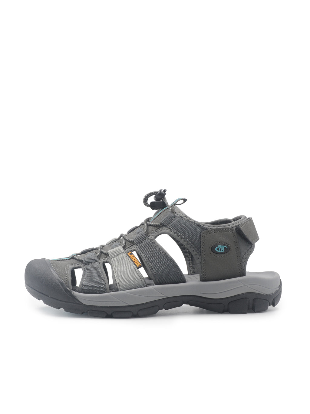 Larrie Grey Active Strap Sandals