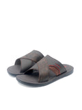 LARRIE Men Coffee Basic Sandals