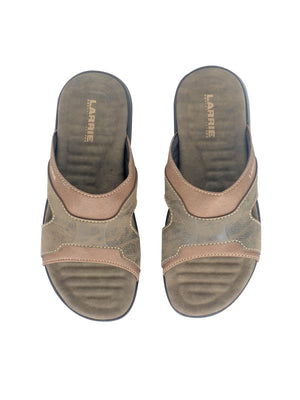 Larrie Brown Textured Sole Sandals