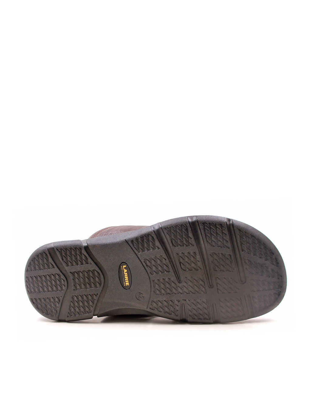 Larrie Coffee Large Panel Sandals