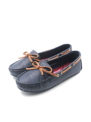 Larrie Navy Atmospheric Casual Basic Loafers