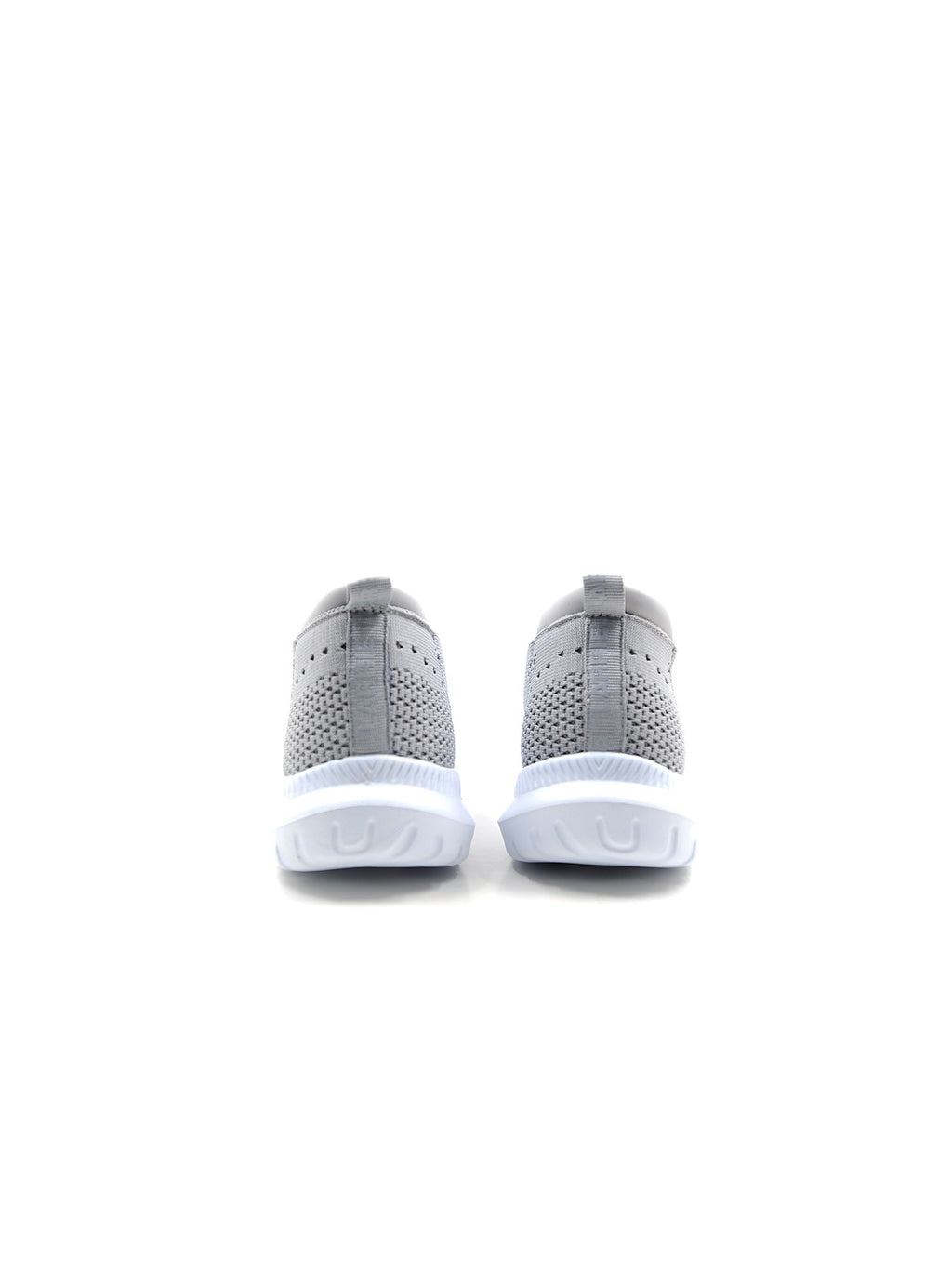 Larrie Light Grey Stretchy Secure Sporty Sneakers