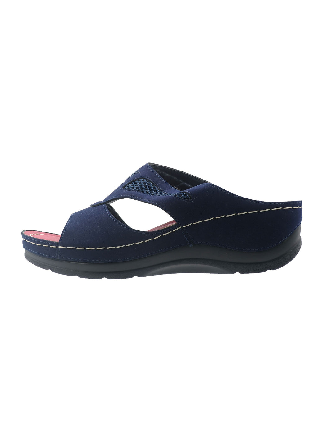 Larrie Navy Relaxation Casual Sandals