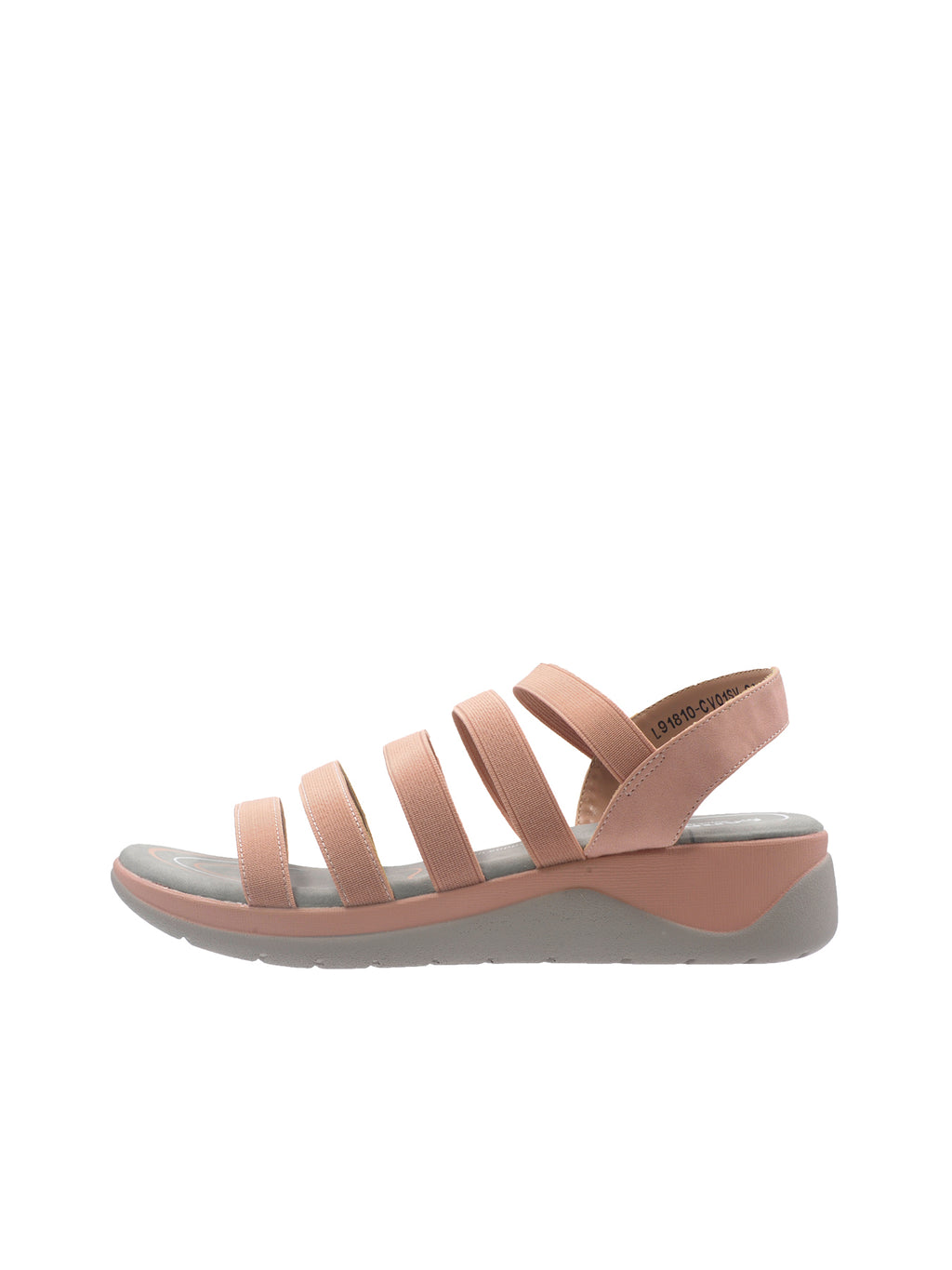 Larrie Pink Feminine Snazzy Sporty Sandals