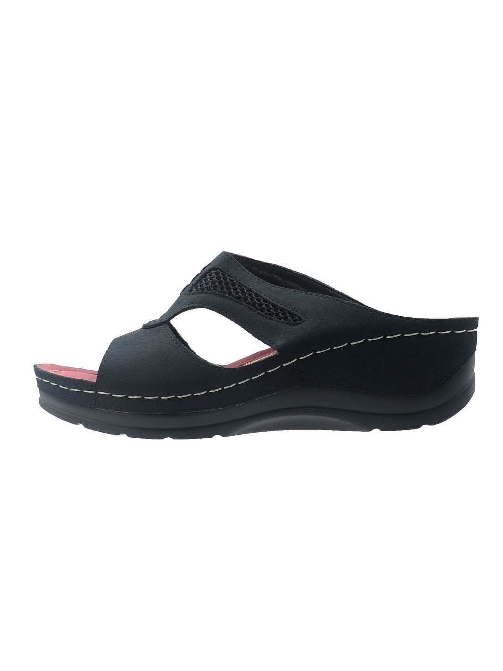 Larrie Black Relaxation Casual Sandals