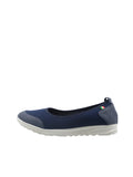 Larrie Blue Sporty Pleasurable Sneaker Flats