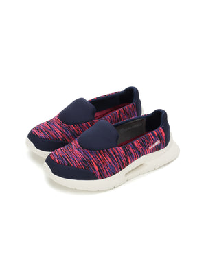 Larrie Fuchsia Lightweight Slip-On Casual Sporty Sneakers