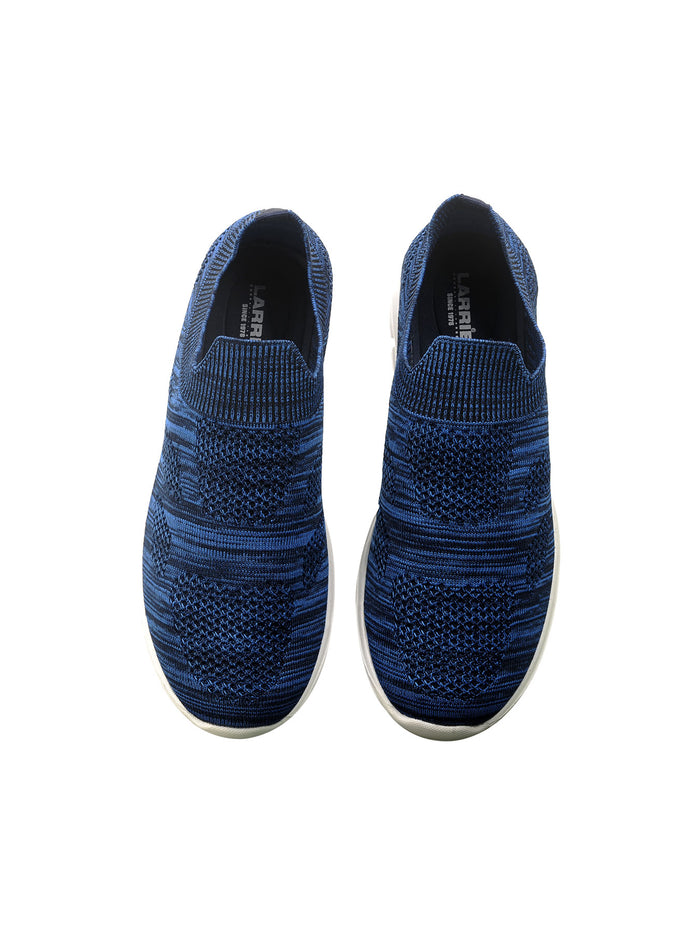Larrie Blue Lightweight Casual Style Sporty Sneakers