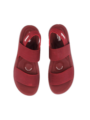 Larrie Women Red Strap Lifestyle Casual Women's Sandal