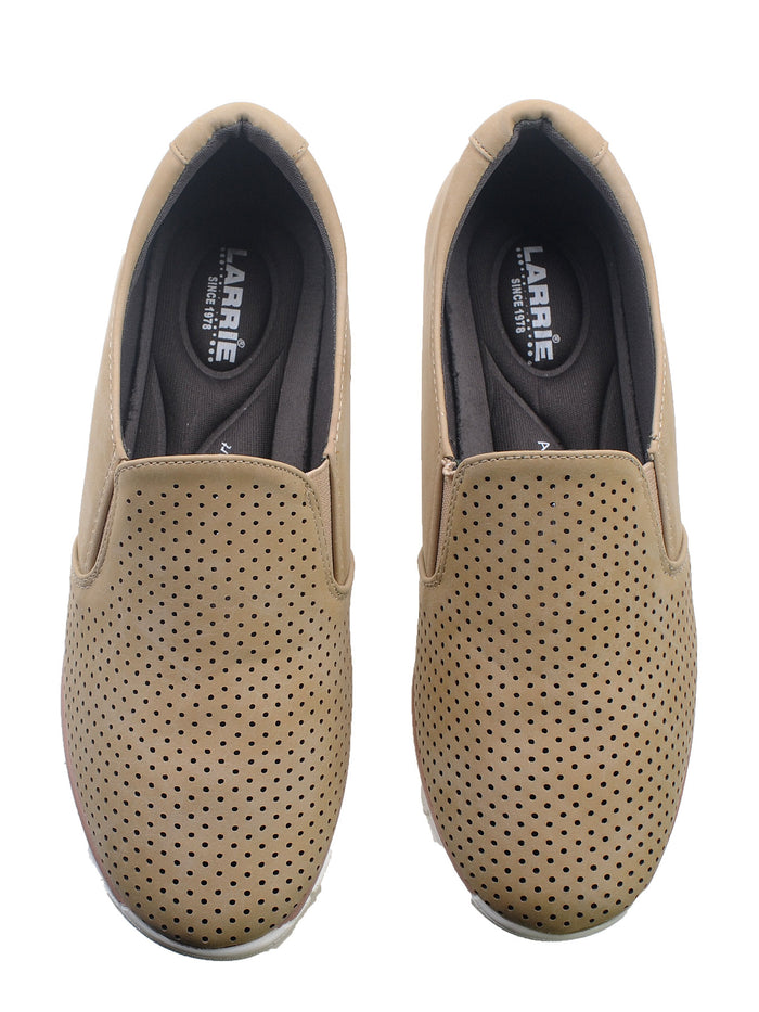 Larrie Camel Urban Line Personality Moccasin Flats