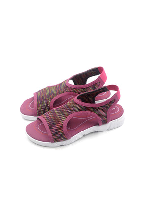Larrie Women Purple Sporty Slip On Sandals