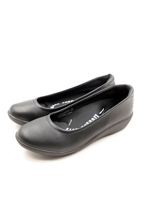 Larrie Women Black Convenience Business Sporty Flats