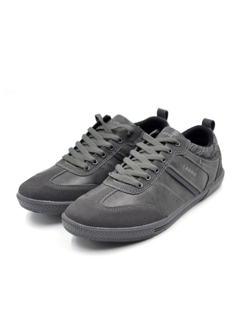 LARRIE Men Black Classic Plain Sneakers