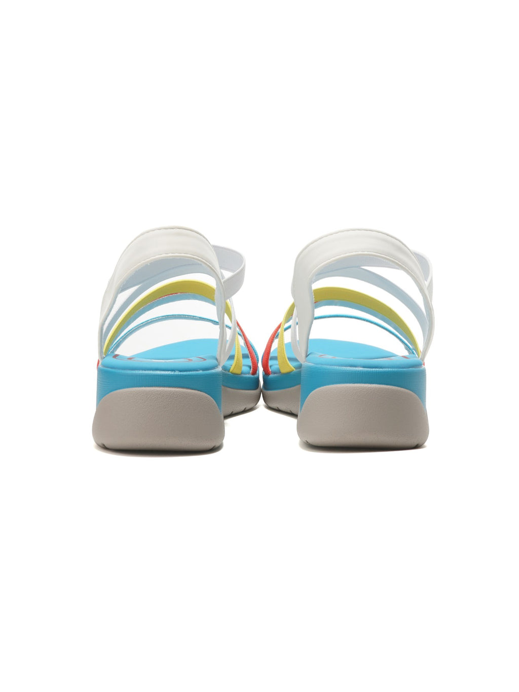 Larrie Blue Multiple Strap Sporty Sandals