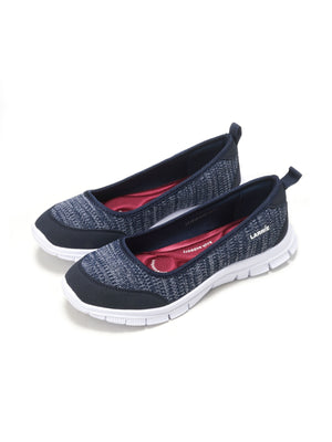 Larrie Navy Stretchable Casual Sporty Sneakers