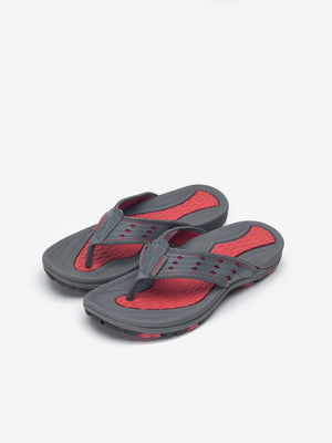 Larrie Red Sporty Sandals