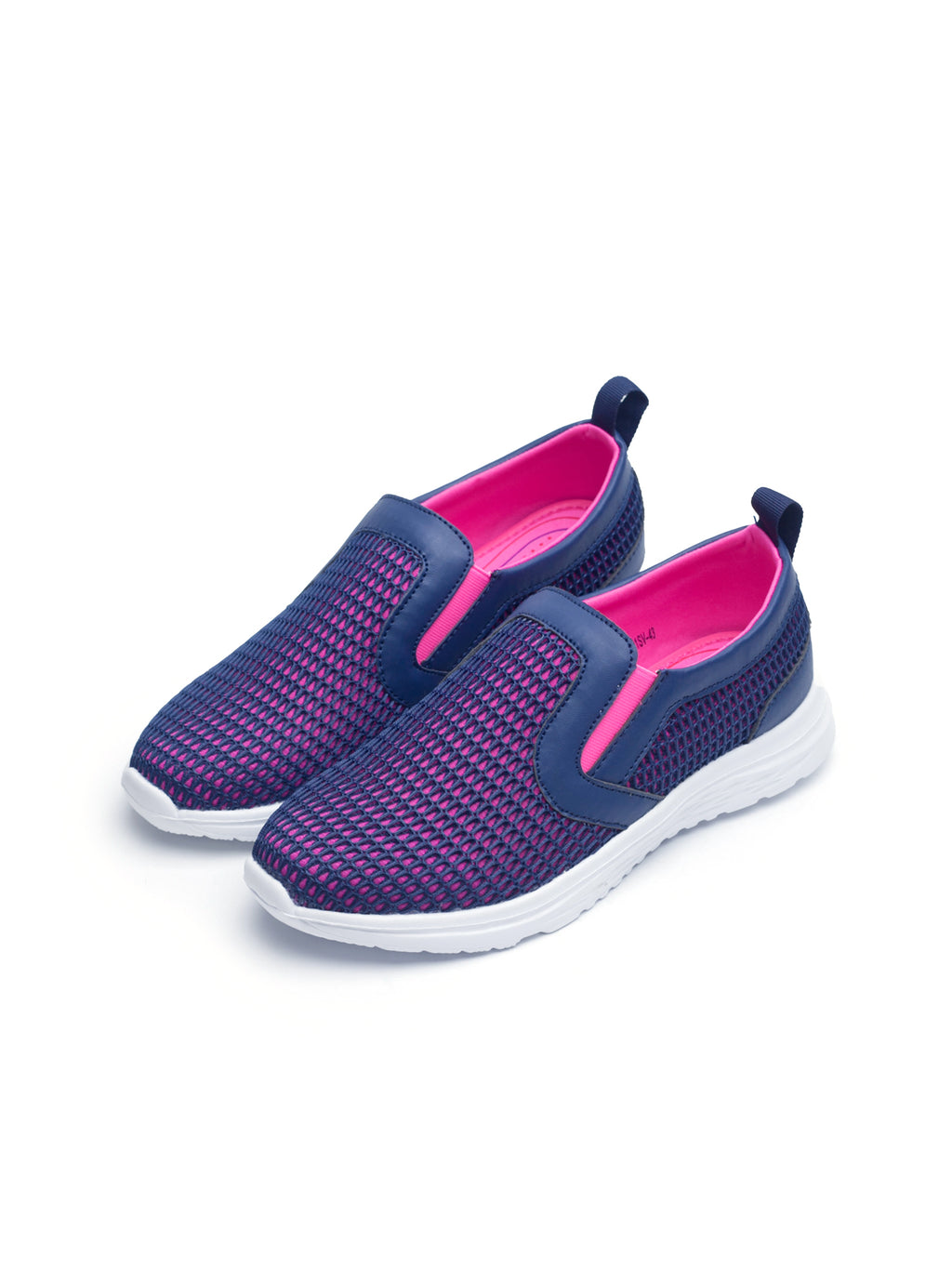 Larrie Navy Youthful Sport Sneakers