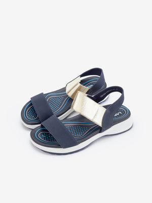 Larrie Women Navy Versatile Casual Sport Sandals