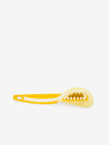 Larrie Yellow Suede Brush with Wire